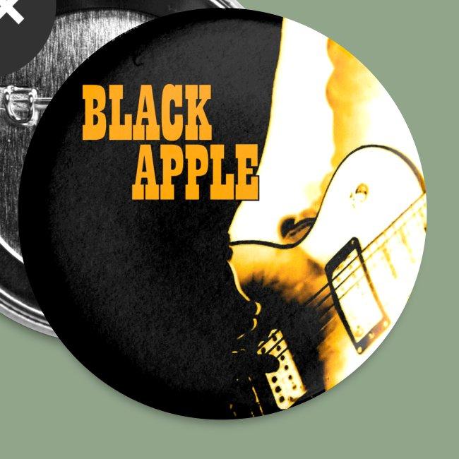 Black Apple Button
