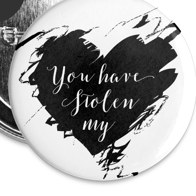 You have Stolen My Heart (Black)