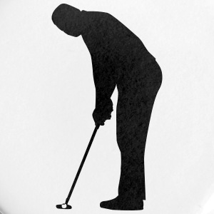 Golf player - Small Buttons