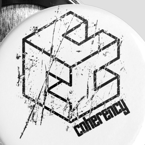 Coherency Escher C Logo - Small Buttons