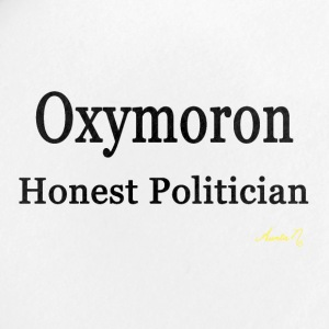 0002 Oxymoron: Honest Politician - Small Buttons