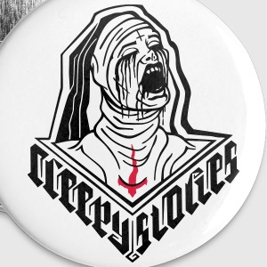 Possessed Nun - Small Buttons