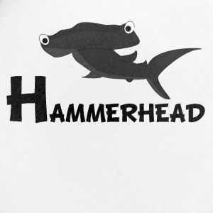 Cartoon Hammerhead Shark - Small Buttons