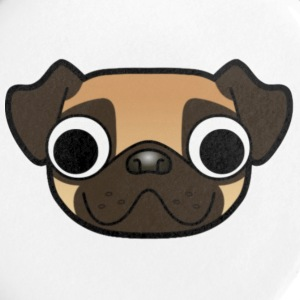 Plain MrPuggyGaming Logo - Small Buttons