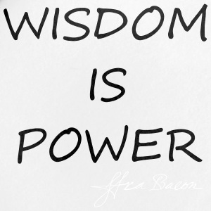 Wisdom is power - Small Buttons