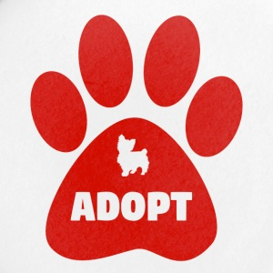 Cute Pets Paw Cat Dog Adopt Red - Small Buttons