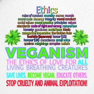 Ethics STOP ANIMAL EXPLOITATION. Go vegan. - Small Buttons