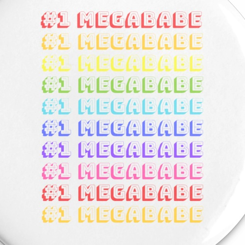 Megababe Pride - Small Buttons
