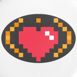 Digital Heart Isle | by Isles of Shirts - Small Buttons