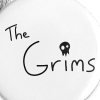 The Grims Logo - Small Buttons