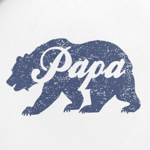 Vintage Papa Bear - Small Buttons