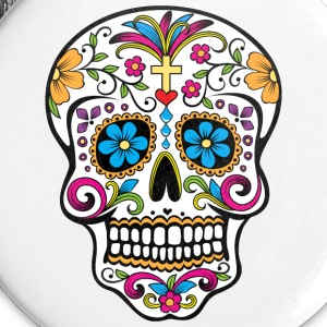 Colorful Sugar skull Special Limited Edition - Small Buttons