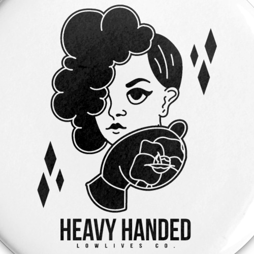 Heavy Handed Button 5-Pack - Buttons small 1'' (5-pack)