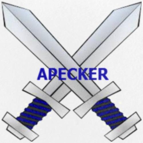 Apecker Logo - Buttons small 1'' (5-pack)