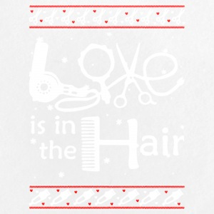 Love Is In The Hair hair stylist T Shirt - Small Buttons