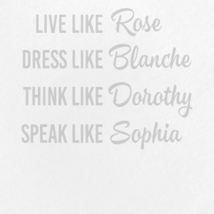 Live like Rose love shirt - Small Buttons