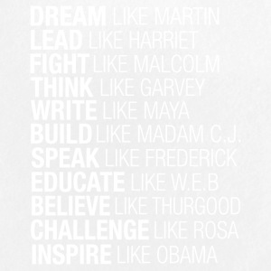 Dream Lead Fight Think Write Build Speak Educate - Small Buttons