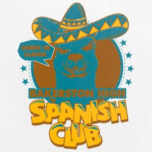 Como Se Llama Bakerston High Spanish Club - Small Buttons