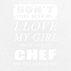 I loe my girl Chef T-Shirts - Small Buttons