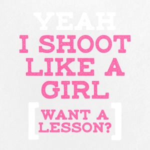 Yeah I Shoot Like A Girl - Small Buttons