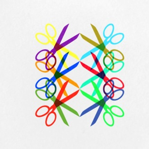 Colorful Scissors - Small Buttons