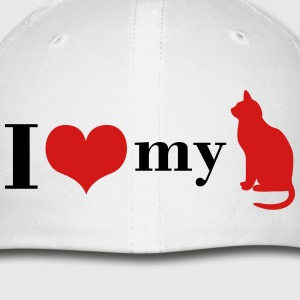 I love my Cat - Baseball Cap