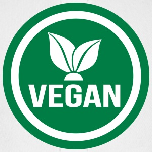vegan food sign - Baseball Cap