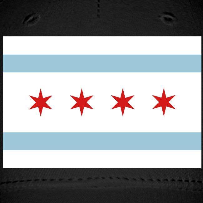 Chicago Flag 3 color