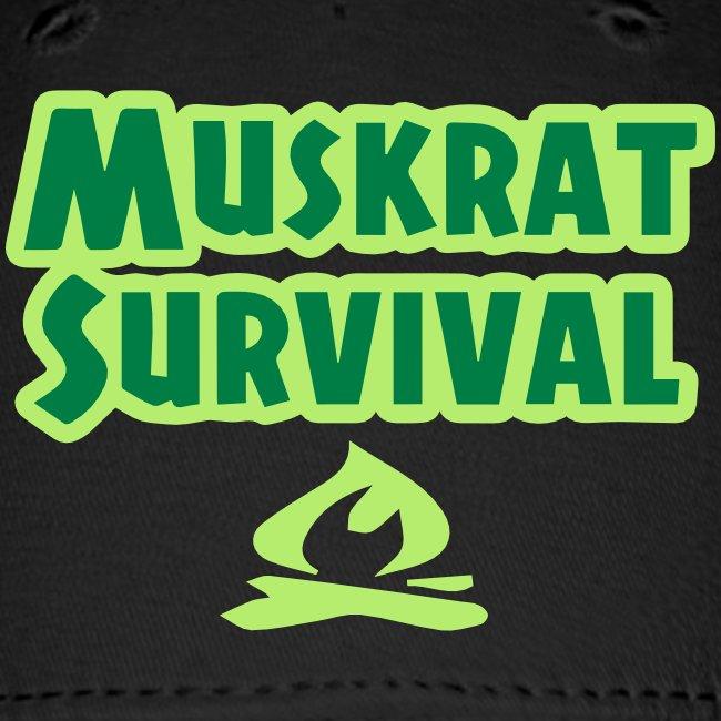 Muskrat Survival text