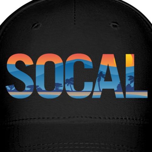SOCAL Southern California Pride Illustration - Baseball Cap