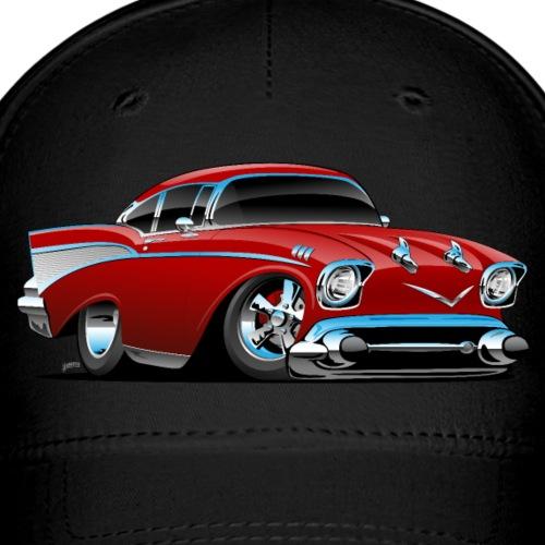 Classic hot rod 57 muscle car - Baseball Cap