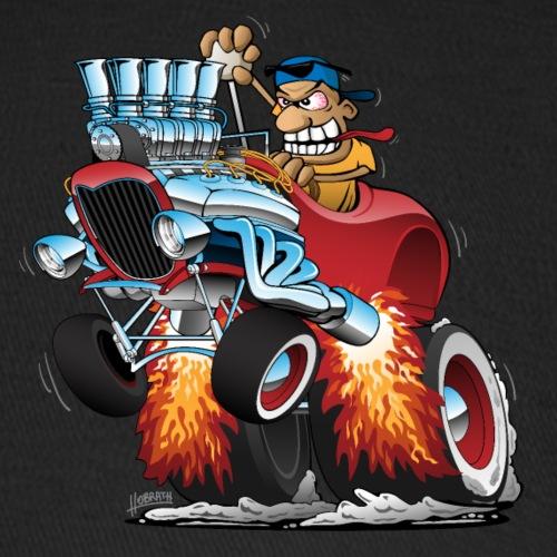 Highboy Hot Rod Race Car Cartoon - Baseball Cap