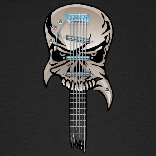 Skull Guitar - Baseball Cap