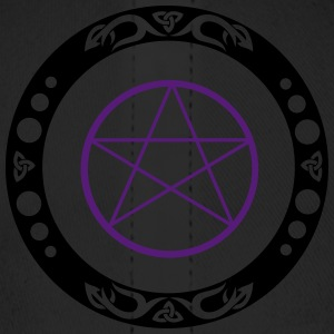 Big pentagram with trinity symbol. - Baseball Cap