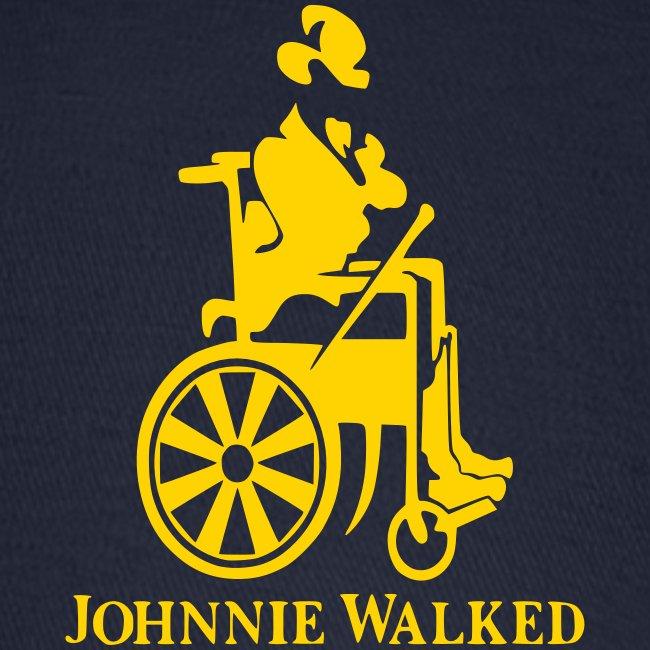 Johnnie Walked, Wheelchair fun, whiskey and roller