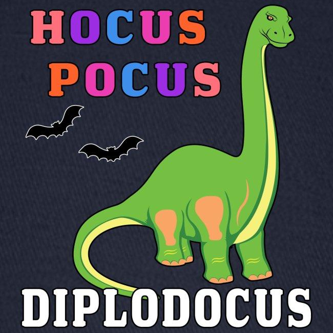 Hocus Pocus Diplodocus Prehistoric Dinosaur Bat.