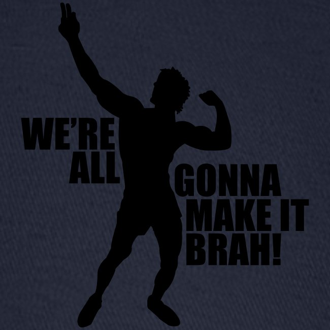 Zyzz Silhouette we're all gonna make it