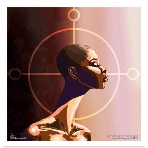 My Ancestors Guide Me - Poster 24x24