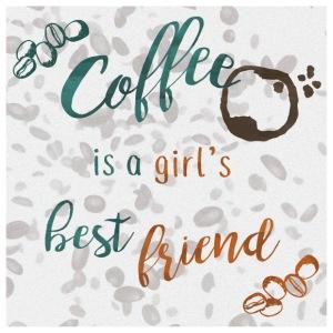 A Girl's Best Friend - Poster 24x24