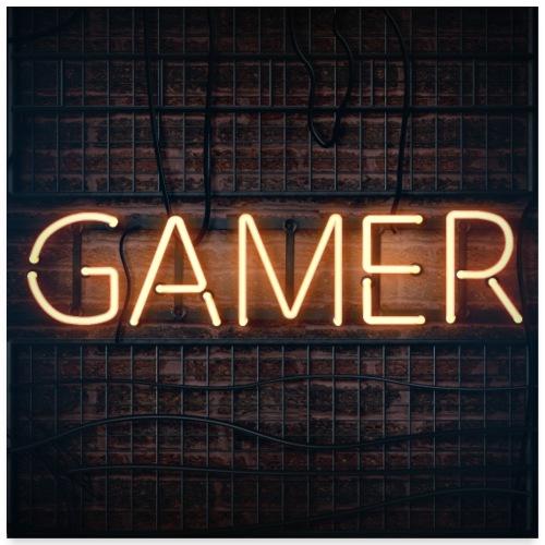 gamer - Poster 24x24