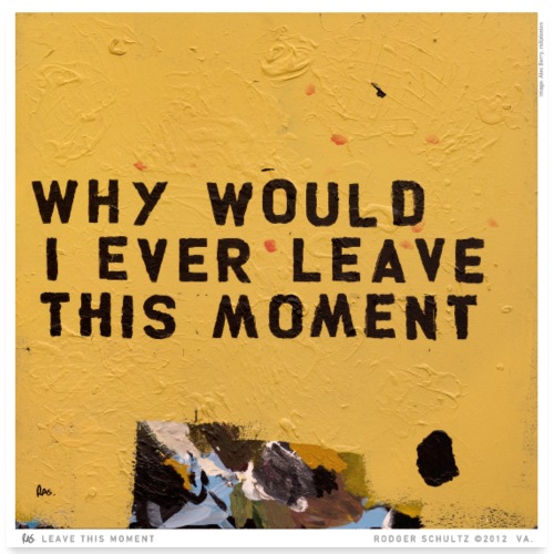 Leave This Moment - Poster 24x24