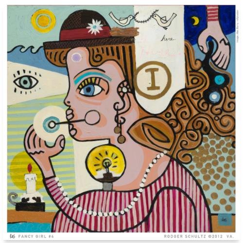 Fancy Girl #4 - Poster 24x24