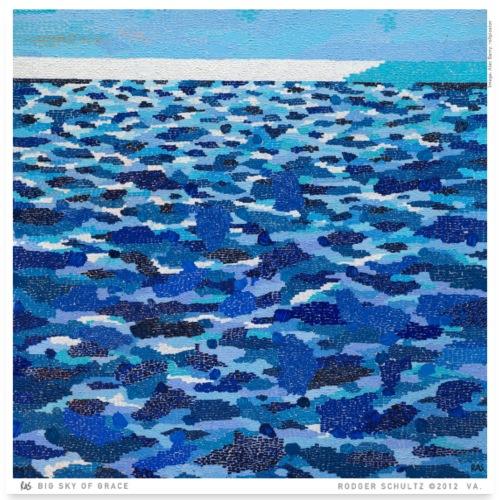 SEA - Poster 24x24