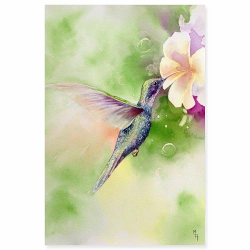 Hummingbird - Poster 8x12