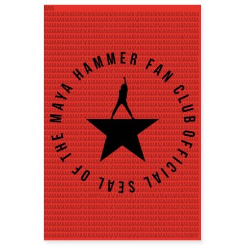 Maya Hammer Fan Club Poster - Poster 8x12