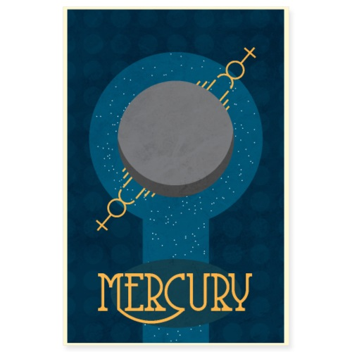 mercury poster - Poster 8x12