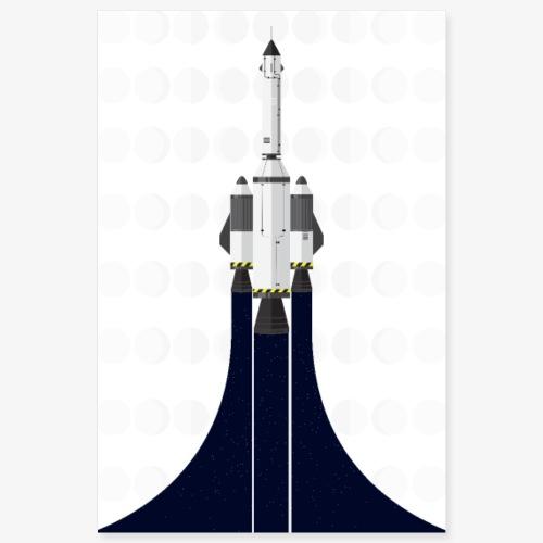 Rocket poster - Poster 8x12