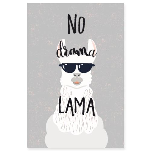 no drama lama - Poster 8x12
