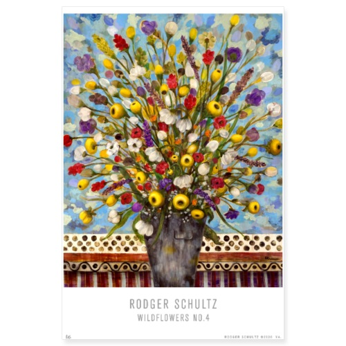 Wildflowers No.4 - Poster 8x12