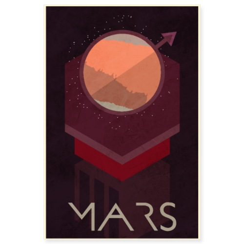 Mars Poster - Poster 8x12